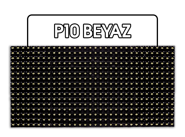 P10 Beyaz LED Panel