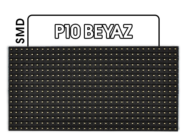 P10 SMD Beyaz LED Panel